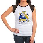 Sperling Family Crest Women's Cap Sleeve T-Shirt
