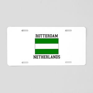 Rotterdam, Netherlands Aluminum License Plate