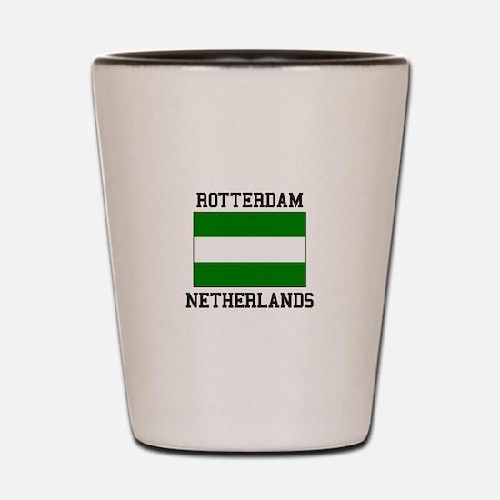 Rotterdam, Netherlands Shot Glass