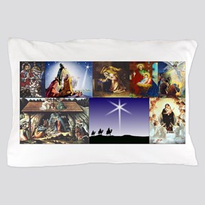 Christmas Nativity Medley Pillow Case