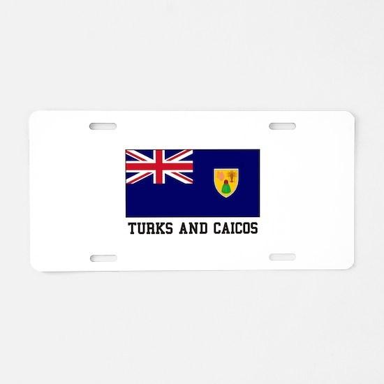 Turks and Caicos Aluminum License Plate