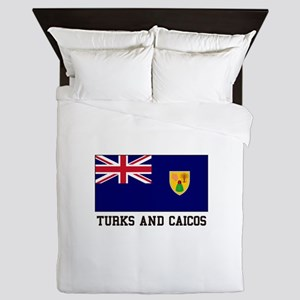 Turks and Caicos Queen Duvet
