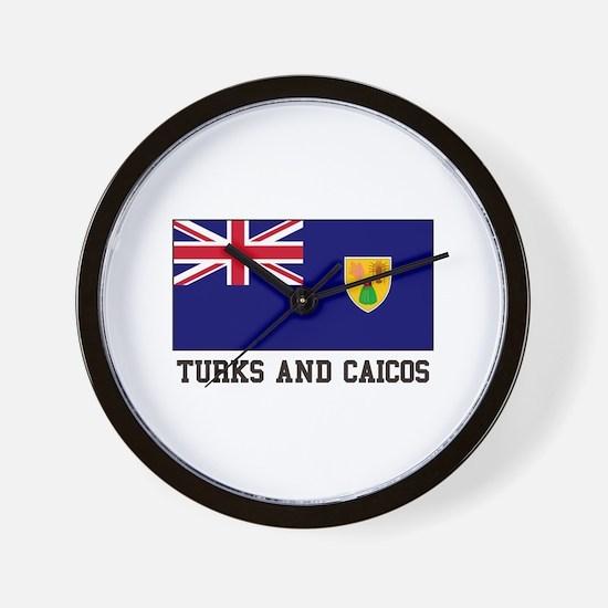 Turks and Caicos Wall Clock