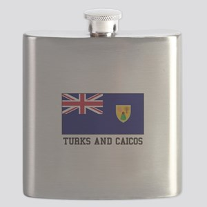 Turks and Caicos Flask
