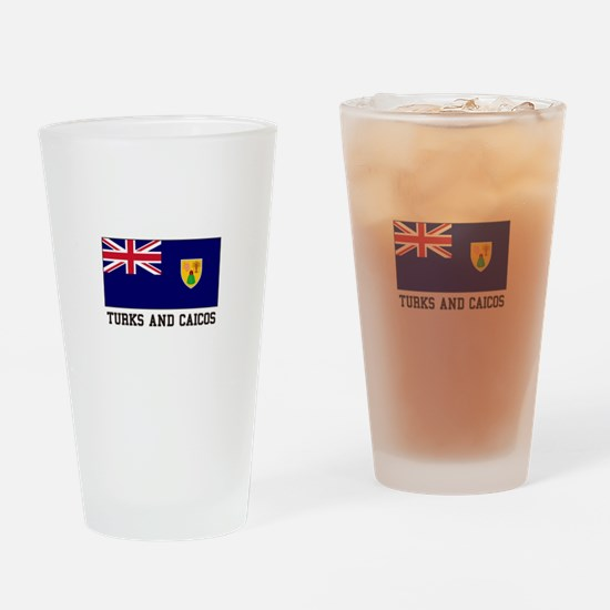 Turks and Caicos Drinking Glass
