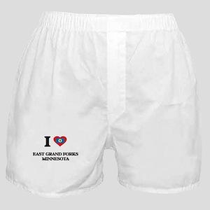 I love East Grand Forks Minnesota Boxer Shorts