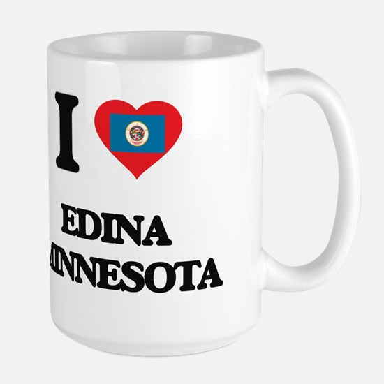 I love Edina Minnesota Mugs