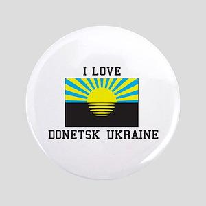 I Love Donetsk Button