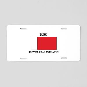 Dubai UAE Aluminum License Plate