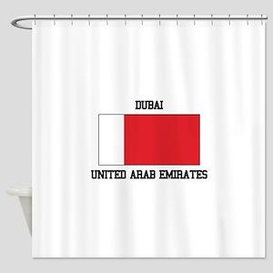 Dubai UAE Shower Curtain