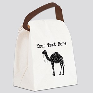 Distressed Camel Silhouette (Custom) Canvas Lunch