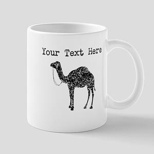 Distressed Camel Silhouette (Custom) Mugs
