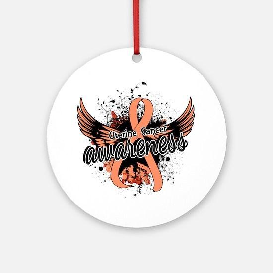 Uterine Cancer Awareness 16 Ornament (Round)