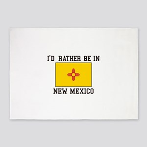 I'd Rather Be In New Mexico 5'x7'Area Rug