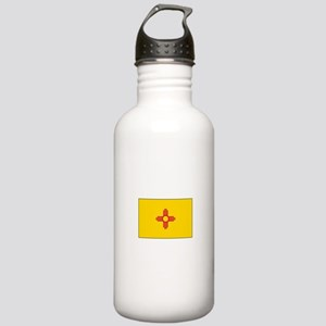 New Mexico Flag Water Bottle