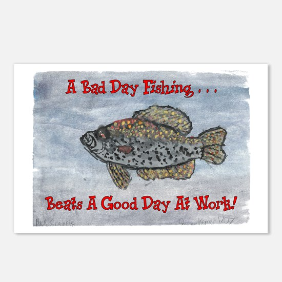 Crappie Good Day! Postcards (Package of 8)