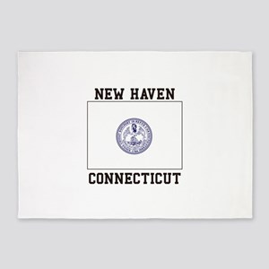 New Haven Flag 5'x7'Area Rug