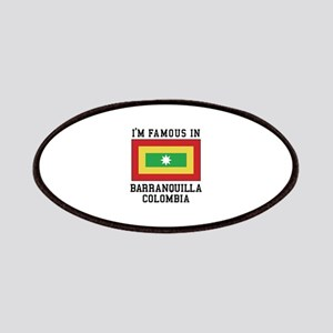 Famous In Colombia Patch