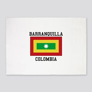 Barranquilla Colombia 5'x7'Area Rug