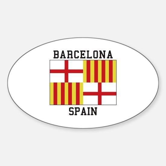 Barcelona Spain Decal