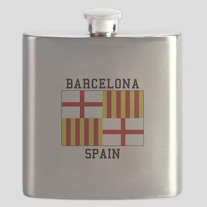 Barcelona Spain Flask