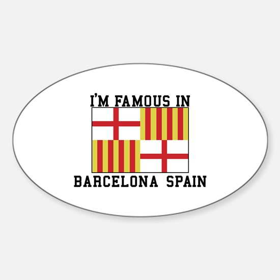 Famous In Spain Decal