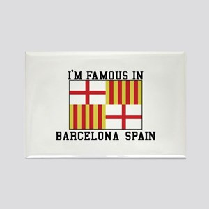 Famous In Spain Magnets
