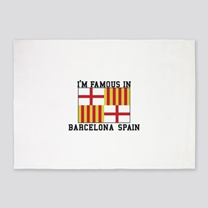 Famous In Spain 5'x7'Area Rug