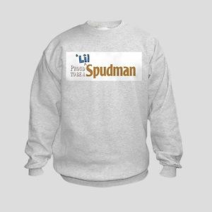 Proud To Be A Lil Spudman Kids Sweatshirt