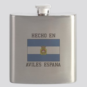 Hecho En Aviles Espana Flask