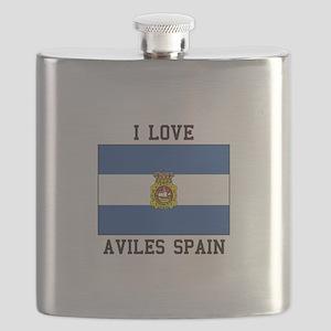 I Love Spain Flask