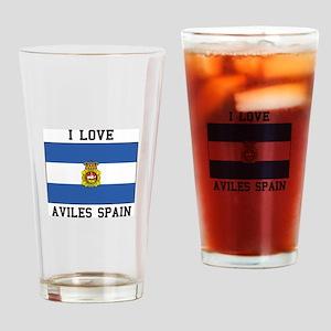 I Love Spain Drinking Glass