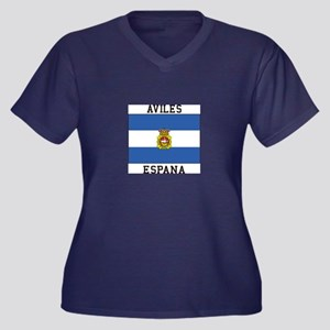 Aviles Espana Plus Size T-Shirt
