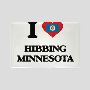 I love Hibbing Minnesota Magnets