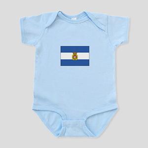 Aviles, Spain Flag Body Suit