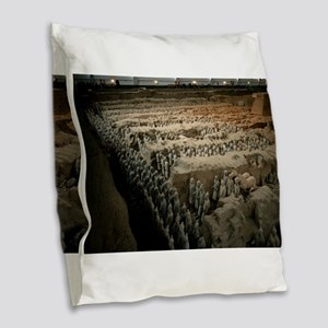 CHINA GIFT STORE Burlap Throw Pillow