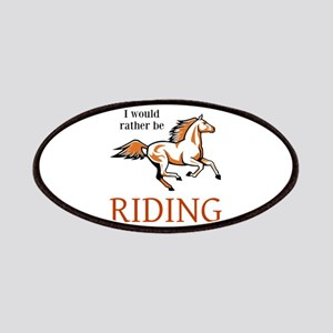 Rather Be Riding Patch
