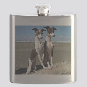 Beach Pups Flask