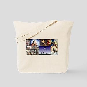 Christmas Nativity Medley Tote Bag