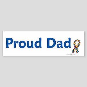 Proud Dad (Autism) Bumper Sticker