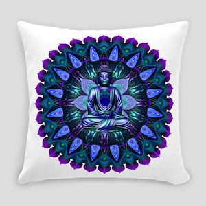 The Evening Light Buddha Everyday Pillow