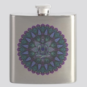 The Evening Light Buddha Flask