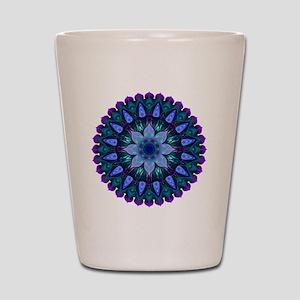Evening Light Mandala Shot Glass