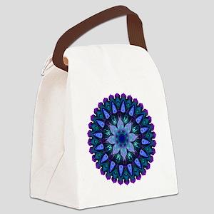 Evening Light Mandala Canvas Lunch Bag