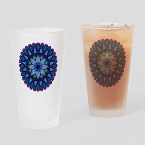 Evening Light Mandala Drinking Glass