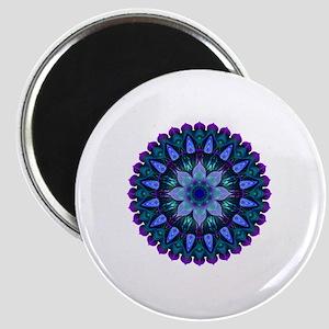 Evening Light Mandala Magnet