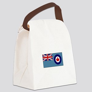 Canadian Air Force Flag Canvas Lunch Bag