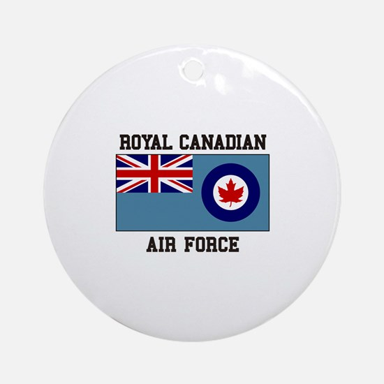 Canadian Air Force Ornament (Round)