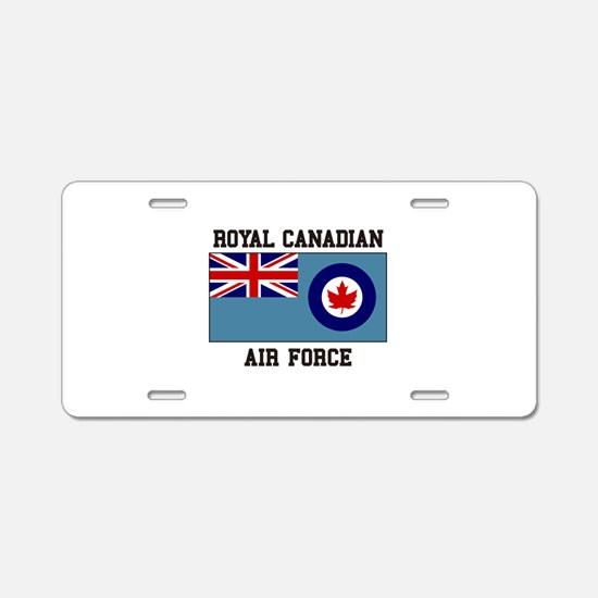 Canadian Air Force Aluminum License Plate