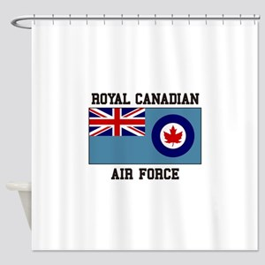 Canadian Air Force Shower Curtain